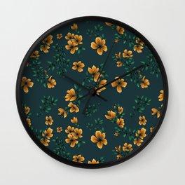 Pattern flower fantasy 1 Wall Clock