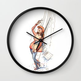 Free Puppet Wall Clock