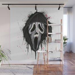The Horror of Scream Wall Mural