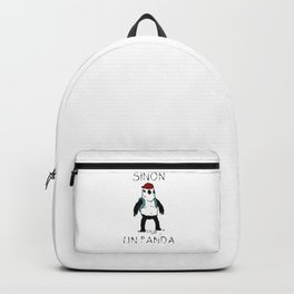 Sinon, un panda (3) Backpack