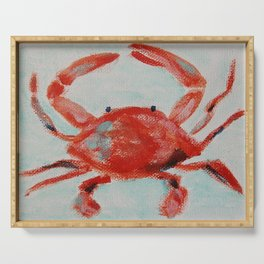 Crabby Serving Tray