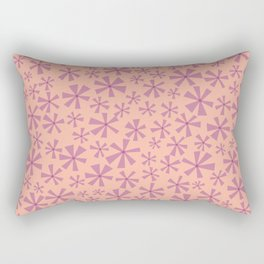 Scattered Floral Rectangular Pillow