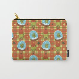 Cactus in a Snow Globe Carry-All Pouch
