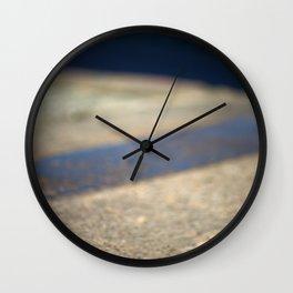 Abstract pavement Wall Clock