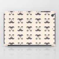 mustache iPad Cases featuring Mustache by Jaeyun Woo