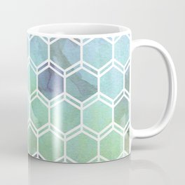 TWEEZY PATTERN OCEAN COLORS byMS Coffee Mug