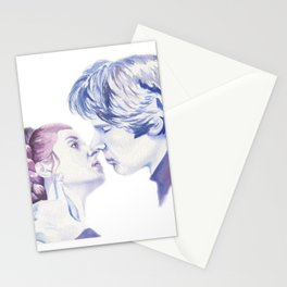Hans Solo and Princess Leia Stationery Cards