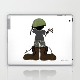 In My Father's Shoes... Laptop & iPad Skin