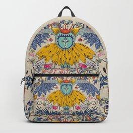 Owl kingdom in soft background Backpack