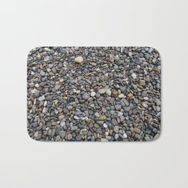 What Stories You Could Tell... Rocks of Jasper Beach Bath Mat