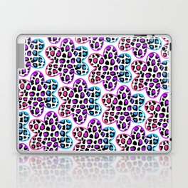 Rainbow Leopard Flower Laptop & iPad Skin
