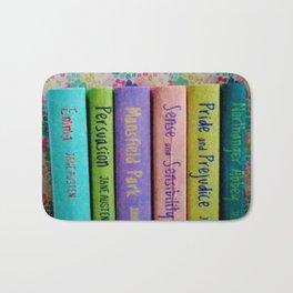 Jane Austen Library Bath Mat