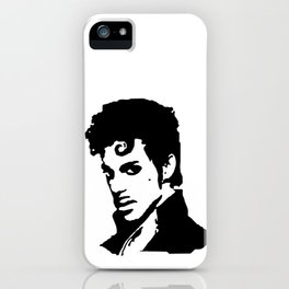 MUSIC STAR PORTRAIT iPhone Case