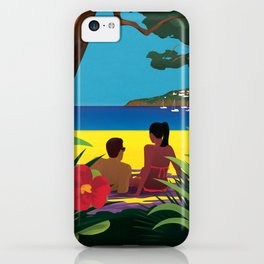A Shaded Beach iPhone Case