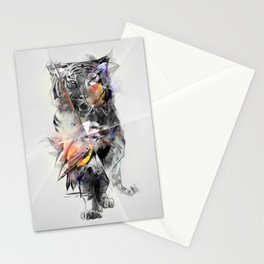 Tiger Triangle Stationery Cards