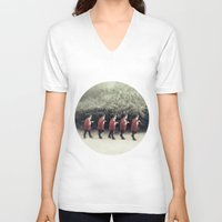 army V-neck T-shirts featuring Baby army by josemanuelerre