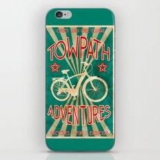 TOWPATH ADVENTURES iPhone & iPod Skin
