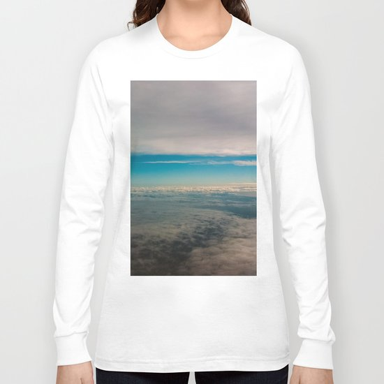 In The Middle of Sky Long Sleeve T-shirt