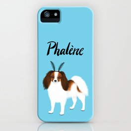 Phalène (Blue) iPhone Case