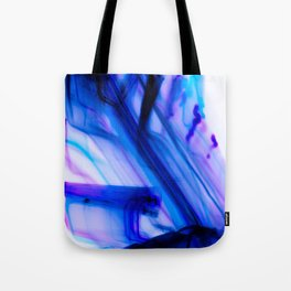 Vivid Electric Violet Line Art Tote Bag