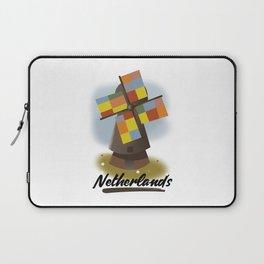 Netherlands travel poster Laptop Sleeve