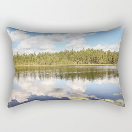 Lake of the Woods. Rectangular Pillow
