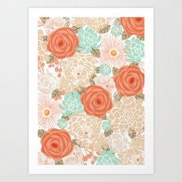 Cadimum Orange Art Print