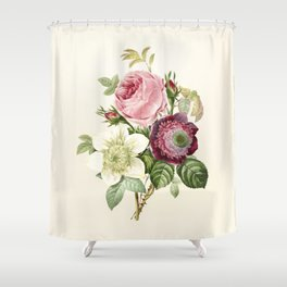 Floral Art #6 Shower Curtain