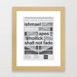 Church - Ishmael Live Framed Art Print