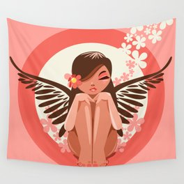 Flora Fairy Wall Tapestry