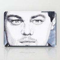 leonardo dicaprio iPad Cases featuring Leonardo DiCaprio by beecharly