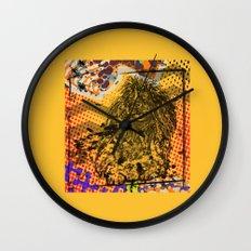 Poodle pop art Wall Clock