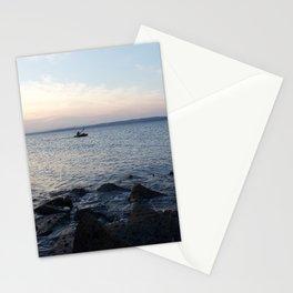 Kayaker Leith Edinburgh Stationery Cards
