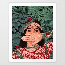 Ladkiyon Ki Badnami Hoti Hai Art Print