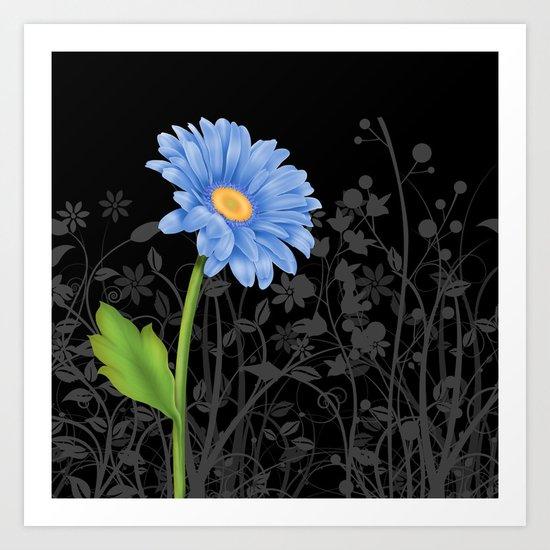 Gerbera Daisy #1 Art Print