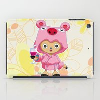 one piece iPad Cases featuring One Piece: TonyTony Chopper by Neo Crystal Tokyo