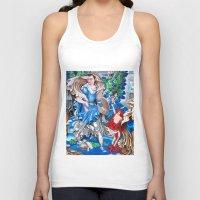 sam smith Tank Tops featuring Blue Fairy, Sam Fan Art by Annette Jimerson