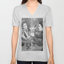CalJean - Something There Unisex V-Neck