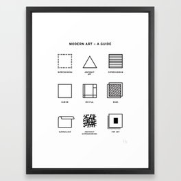 Modern Art Framed Art Print