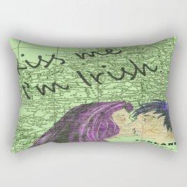 Kiss Me Rectangular Pillow