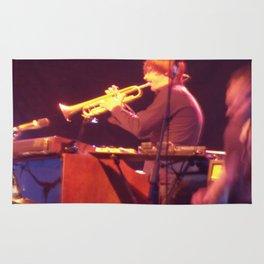 Dev Hynes on the Trumpet Rug