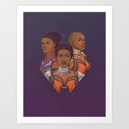Wakanda Women Art Print