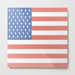 American Flag - National Flag of the US Metal Print