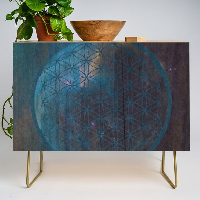 Bubbling Up Credenza