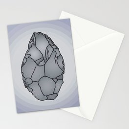 Axe Stone Age Stationery Cards