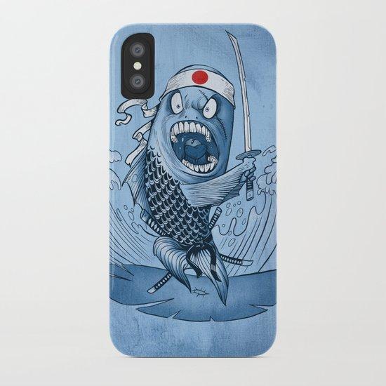 Samurai sushi iPhone Case