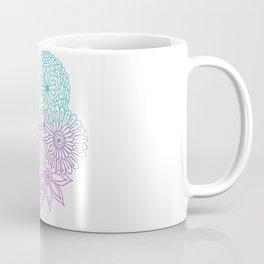 Equanimity / Flowers / Pink Blue Coffee Mug