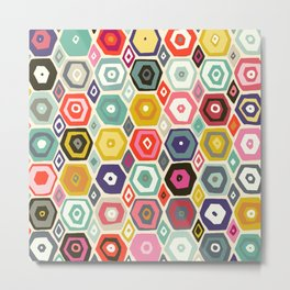 hex summer Metal Print