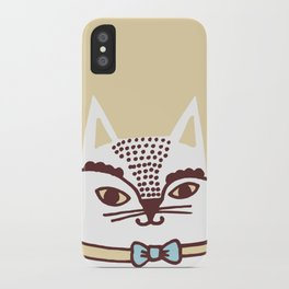 Katze #3 iPhone Case