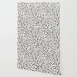 Modern Polka Dots Wallpaper